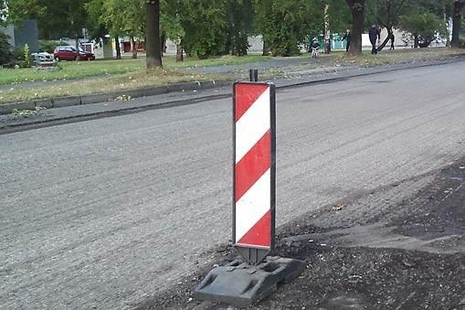 Uwaga - trwają remonty ulic. Sugerowane objazdy