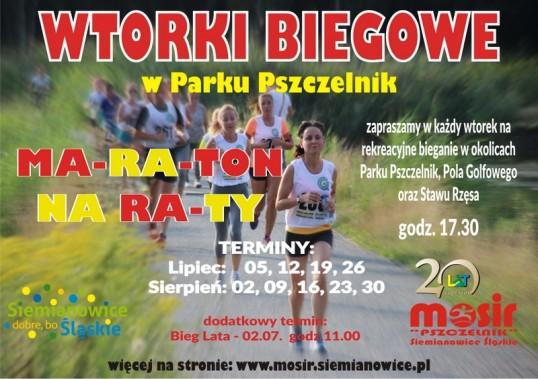 Wtorki Biegowe - Maraton na Raty