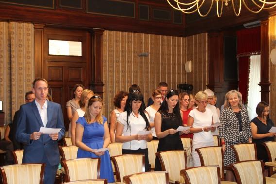 Ślubowanie nauczycieli mianowanych