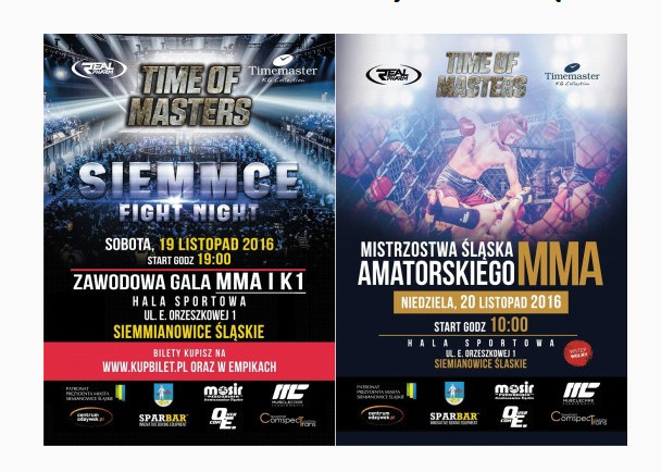 Zawodowa Gala MMA i K1