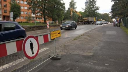 Tymczasowe zmiany w organizacji ruchu autobusów na ul. Wróblewskiego