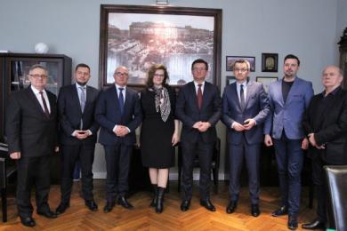 Spotkanie prezydentów podregionu katowickiego