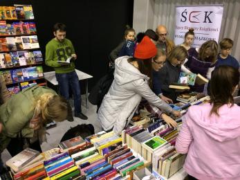 Pierwsza wymiana książkowa w Siemianowicach Śląskich