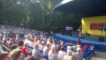 Parada Gwiazd TVS w Amfiteatrze