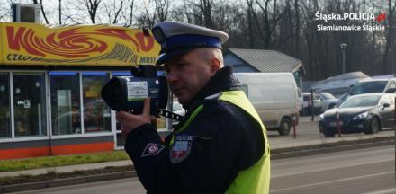 Wzruszające podziękowania dla policjanta z drogówki