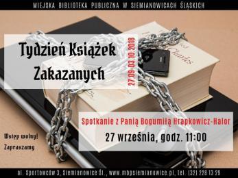Wolność słowa i Tydzień Książek Zakazanych