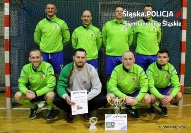 Policjanci z Siemianowic wygrali XXVI Barbórkowy Halowy Turniej Piłki Nożnej Grup Zawodowy