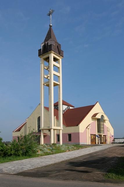 Bańgów - Kościół pw. św. Jana Sarkandra